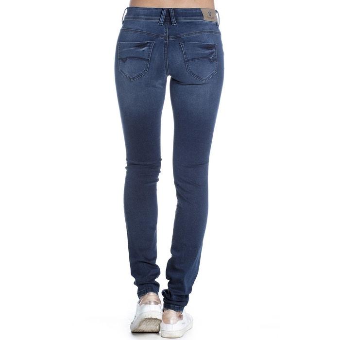 1dcff77c7abd3 Jean skinny taille haute jellyn s-sdm stone blue Freeman T. Porter ...