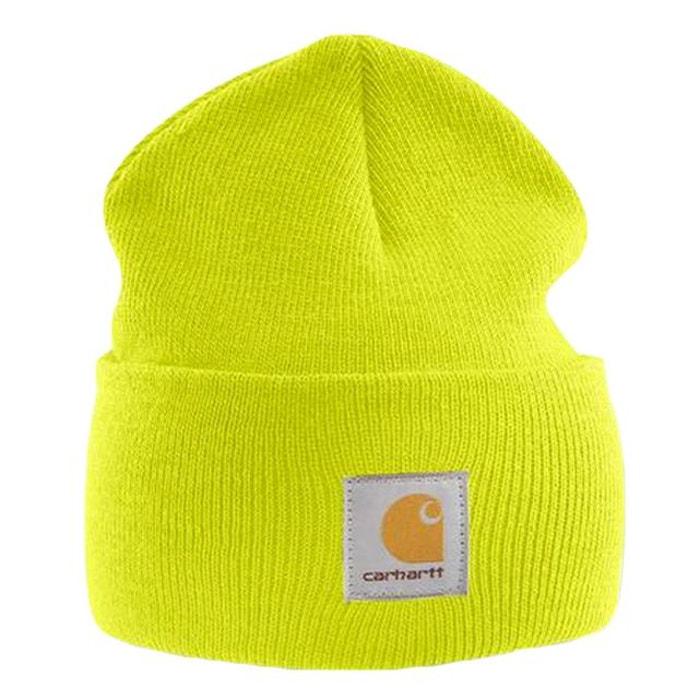 Bonnet tricoté jaune Carhartt | La Redoute Remise En Commande cQuxMg
