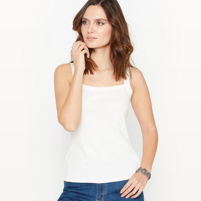 Image 100% Combed Cotton Vest Top ANNE WEYBURN