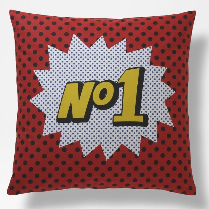 taie d oreiller enfant bolide la redoute interieurs imprim rouge la redoute. Black Bedroom Furniture Sets. Home Design Ideas