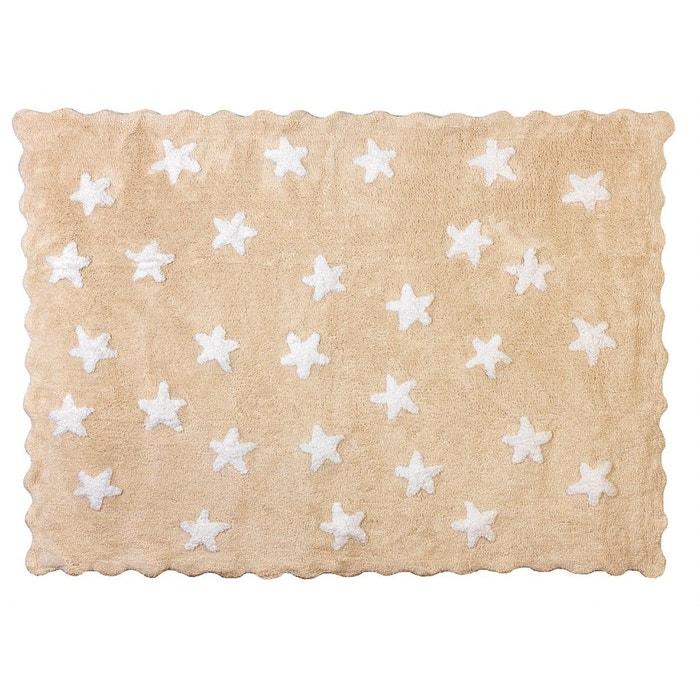 tapis enfant coton beige toiles eden blanches beige. Black Bedroom Furniture Sets. Home Design Ideas