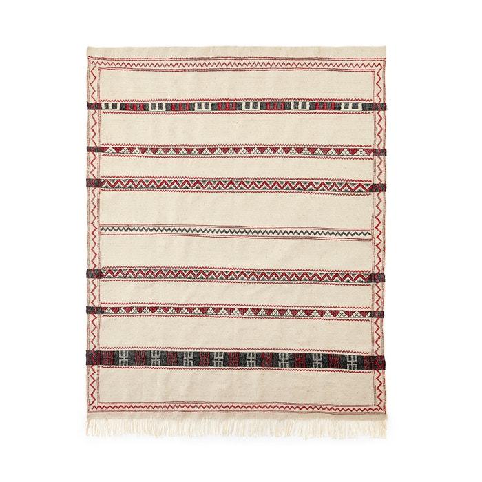 tapis style berb re alvaro ecru imprim multicolore am pm. Black Bedroom Furniture Sets. Home Design Ideas