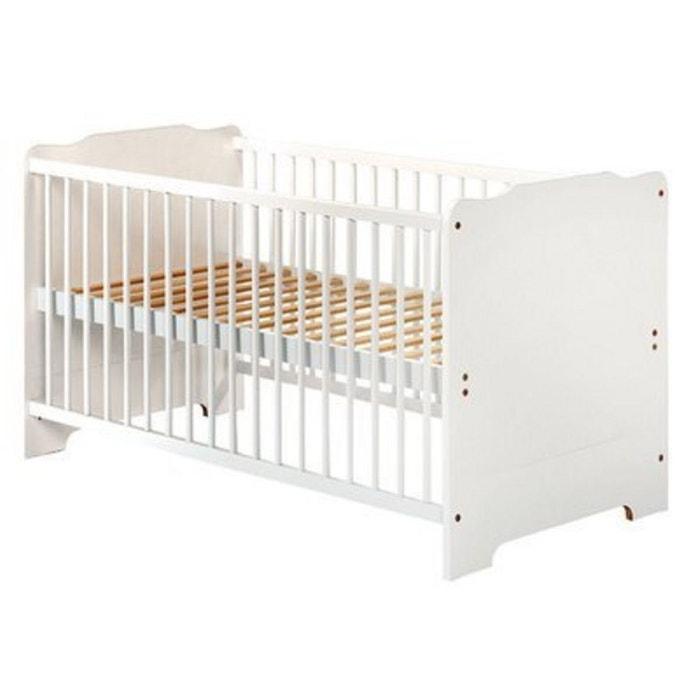 z llner le lit penny lit b b lit enfant blanc zollner la redoute. Black Bedroom Furniture Sets. Home Design Ideas