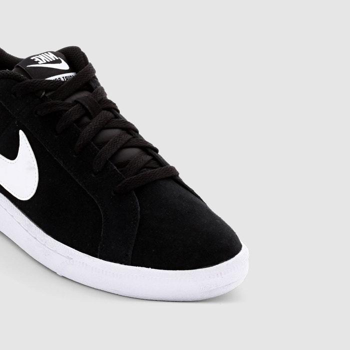 Baskets court royale suede noir/blanc Nike