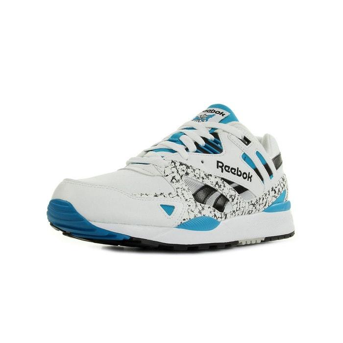 Baskets homme ventilator 2 blanc/noir/bleu Reebok