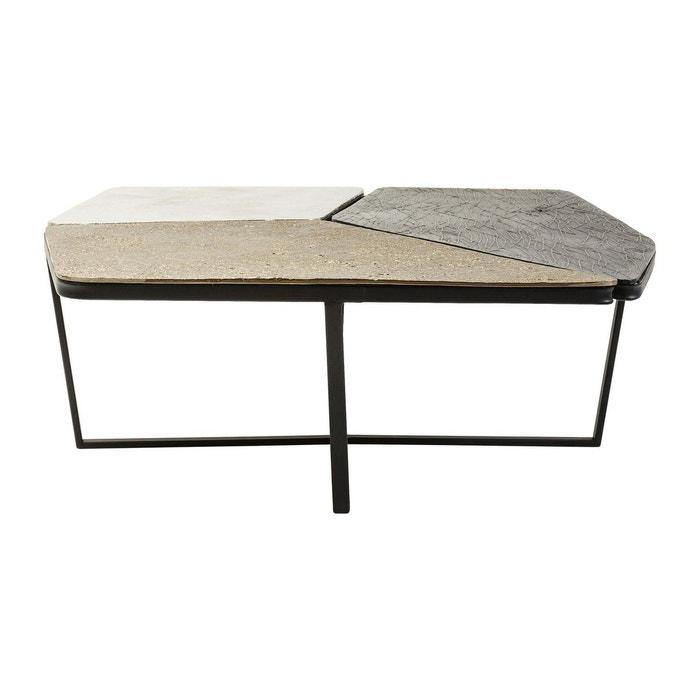 table basse patches kare design noir kare design la redoute. Black Bedroom Furniture Sets. Home Design Ideas