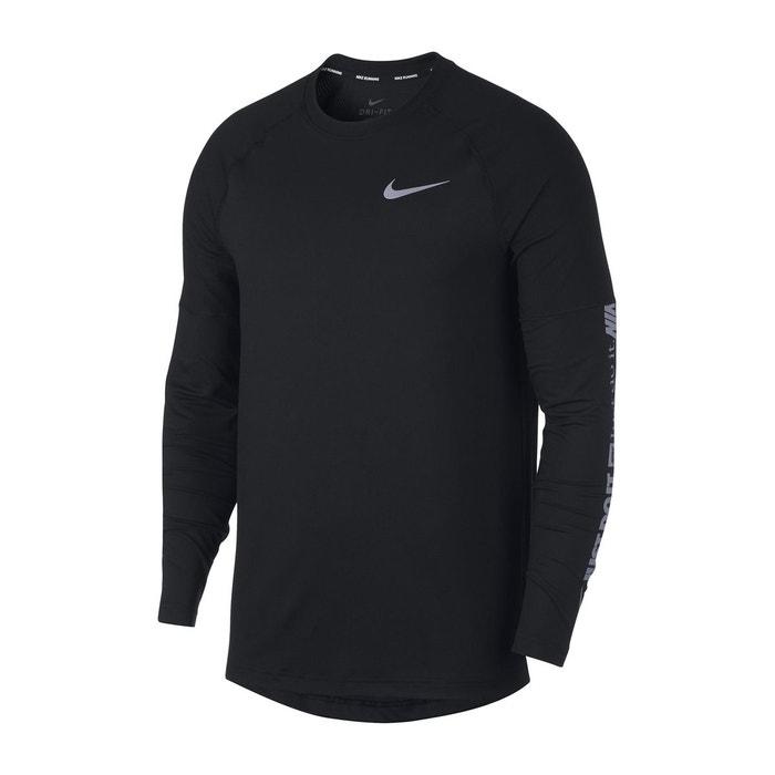 Shirt T Nike Noir Manches La De Running Redoute Longues gqrZAndpxq