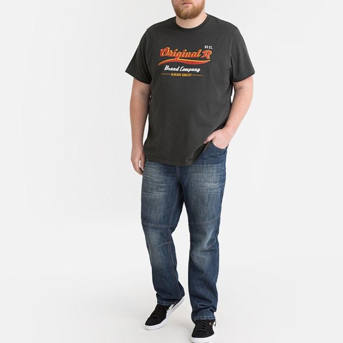 92c76e71547e Jeans elasticizzati taglio straight 5 tasche grezzo dirty LA REDOUTE  COLLECTIONS PLUS
