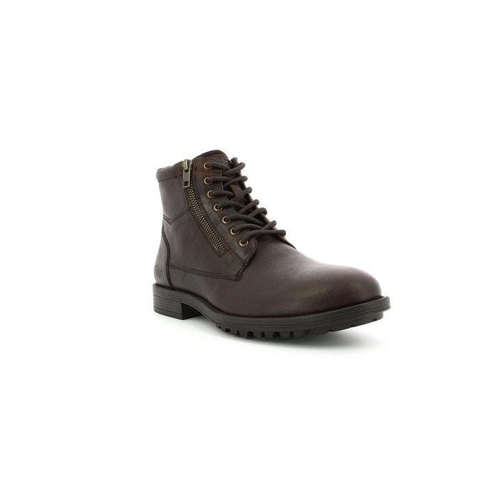 Boots cuir homme brok Kickers   La Redoute fbc3eb3fe85b