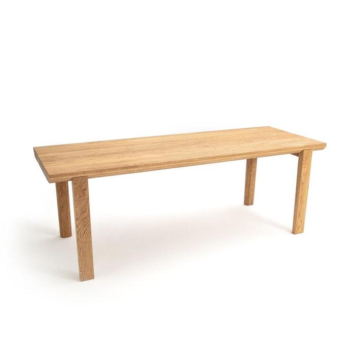 Table ch ne massif torezia ch ne naturel am pm la redoute for Taille table 8 personnes