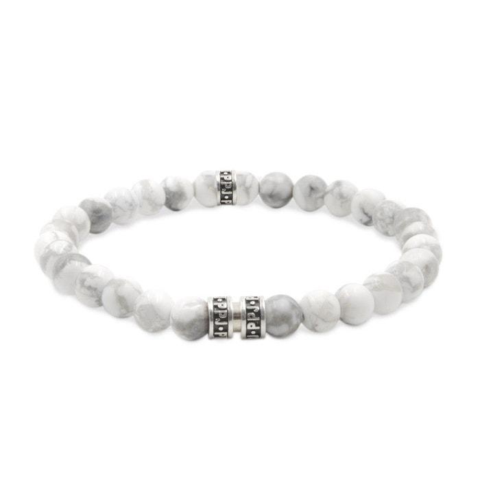 Bracelet perles howlite blanc Pierre Paul Jacques | La Redoute Vente Pas Cher 2018 Nouvelle Sortie Combien bCZl5v