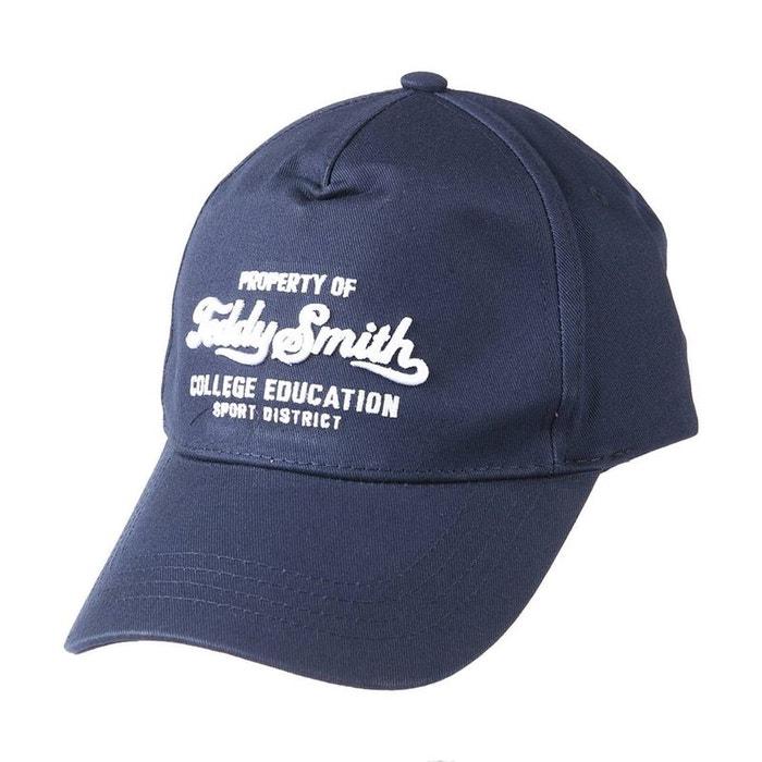 Casquette clive marine coton bleu Teddy Smith | La Redoute Vente Boutique Autorisation De Vente Pas Cher Bon Marché À Vendre 5sczQBJx8a