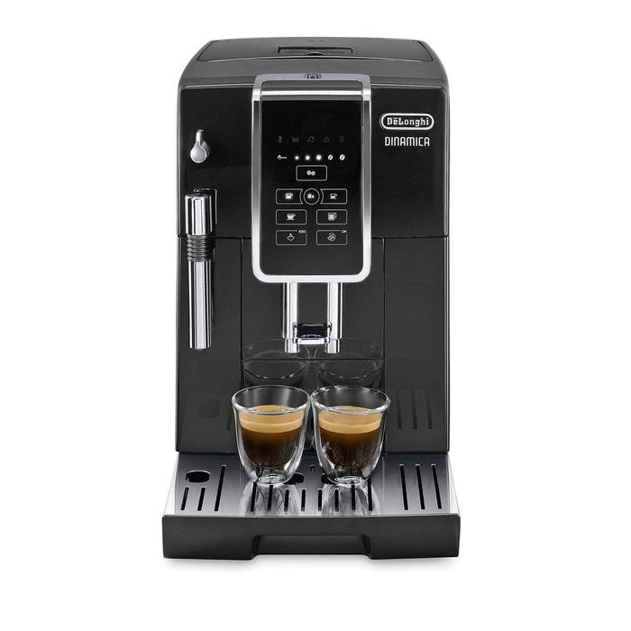 espresso avec broyeur grains dinamica feb3515b noir delonghi la redoute. Black Bedroom Furniture Sets. Home Design Ideas