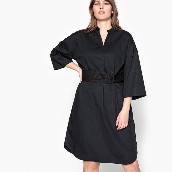 Belted Cotton Dress  CASTALUNA PLUS SIZE image 0