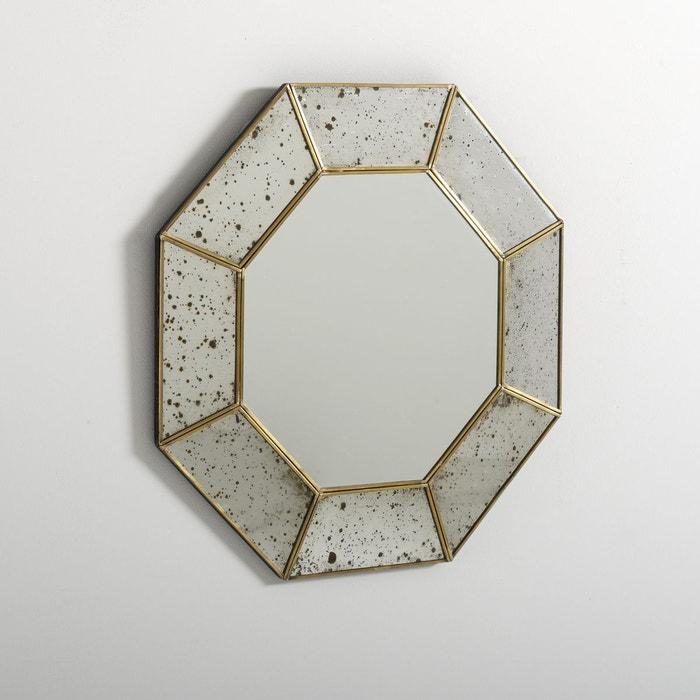 Miroir yawara verre antique la redoute interieurs la redoute for Miroir long pas cher