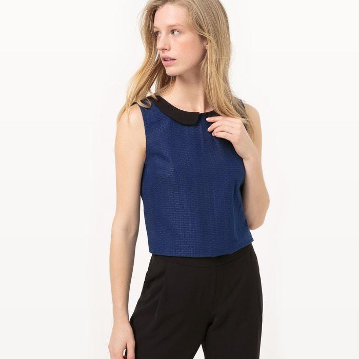 Image Combinaison pantalon, col contrasté MADEMOISELLE R