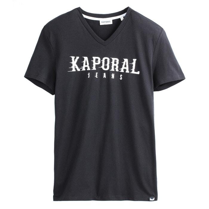 63b7f5b1ca6 Pazik printed v-neck t-shirt Kaporal
