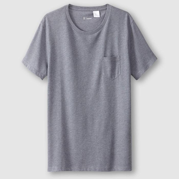 Imagen de Camiseta con cuello redondo 100% algodón R essentiel
