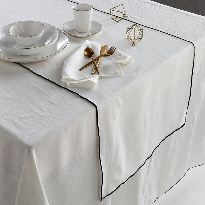 chemin de table lin lavé, taraka am.pm | la redoute