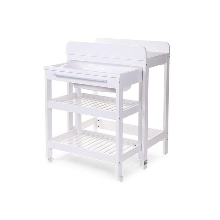 table langer avec baignoire et place pour baignoire seau 0 childwood la redoute. Black Bedroom Furniture Sets. Home Design Ideas
