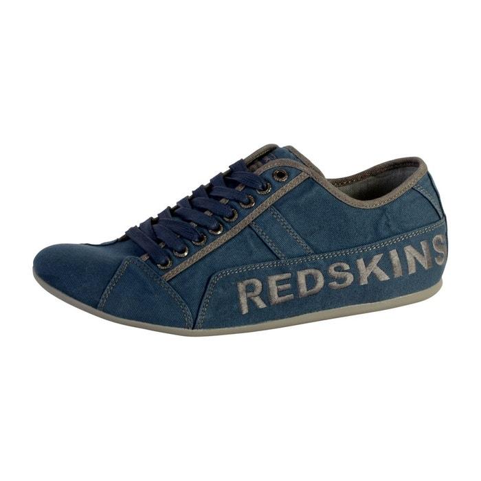 Basket tempo bleu Redskins
