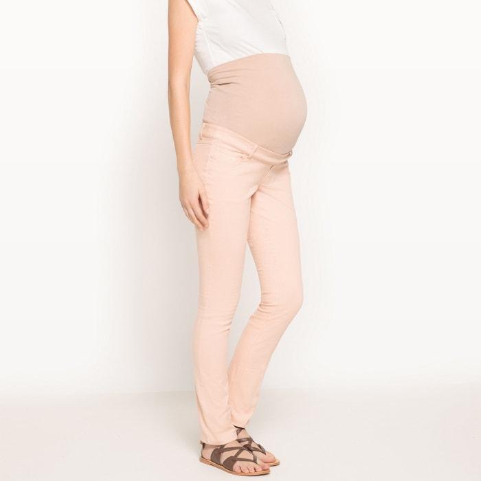 afbeelding Zwangersschapsbroek met 5-pockets La Redoute Collections