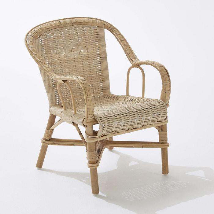 fauteuil de jardin kok moelle de rotin, marcel kok | la redoute