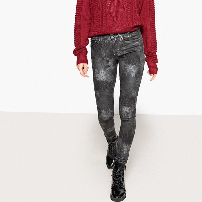 930b92c5281c Slim-fit-jeans pixie silvermoon schwarz bedruckt Pepe Jeans   La Redoute