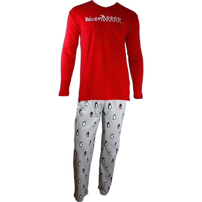 pyjama homme decembrrr multicolore arthur la redoute. Black Bedroom Furniture Sets. Home Design Ideas