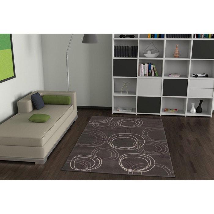 Tapis gris pour salon moderne nadi gris allotapis la redoute - La redoute tapis salon ...