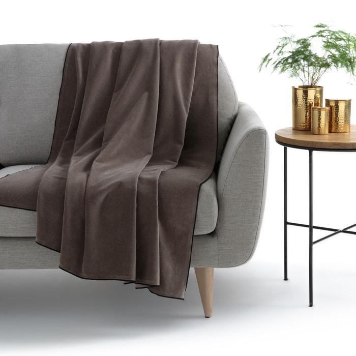 VELVET Blanket  La Redoute Interieurs image 0