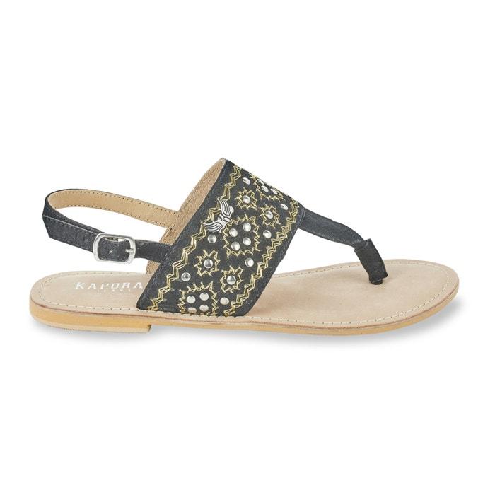 Sandálias em pele com entrededos, Most  KAPORAL 5 image 0