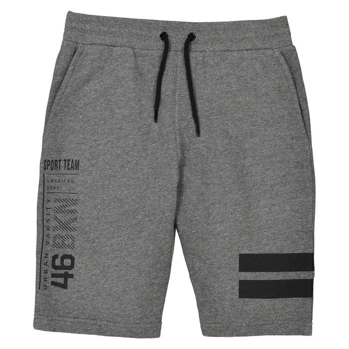 Fleece Bermuda Shorts, 10-16 Years  La Redoute Collections image 0