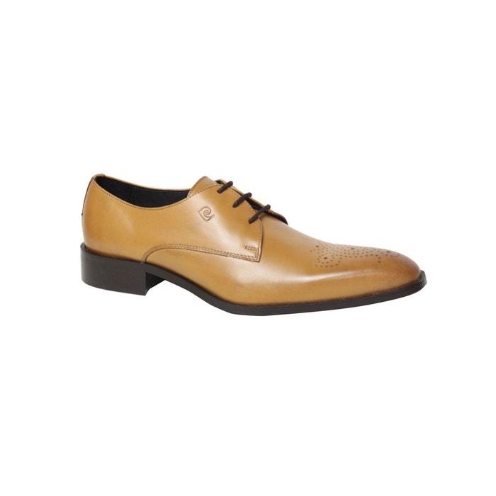 Chaussure pierre cardin en cuir derva beige Pierre Cardin