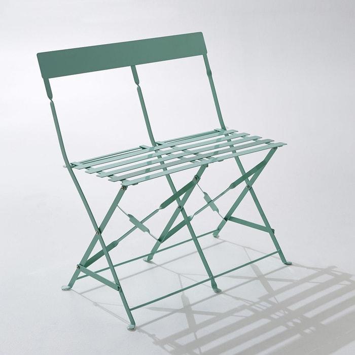 Chaise pliante métal, lot de 2 La Redoute Interieurs | La Redoute