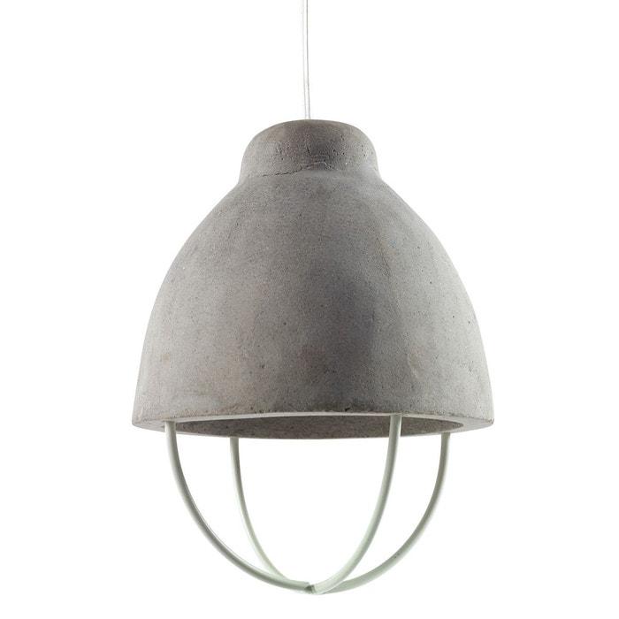 suspension lumineuse design feeling beton serax la redoute. Black Bedroom Furniture Sets. Home Design Ideas