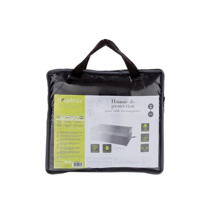 Housse de protection pour table rectangulaire 225 x 125 x 80 cm gris ...