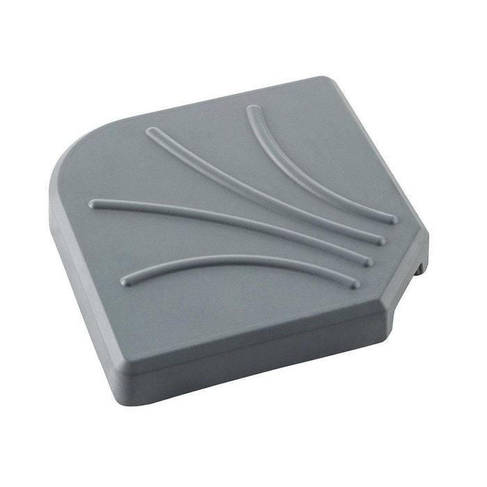 dalle pour parasol d port 15 kg gris noir hesperide la redoute. Black Bedroom Furniture Sets. Home Design Ideas