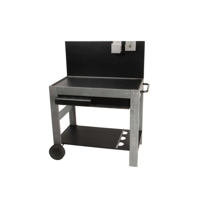 chariot plancha en bois couleur unique somagic la redoute. Black Bedroom Furniture Sets. Home Design Ideas