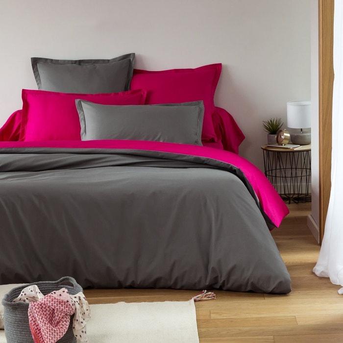 housse de couette bicolore tradition des vosges la redoute. Black Bedroom Furniture Sets. Home Design Ideas