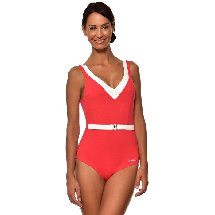 936ac8df39 Maillot de bain une piece femme rouge et barbara tamarindo rouge Livia | La  Redoute