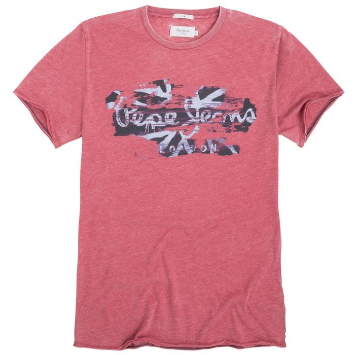 afbeelding Bedrukt T-shirt met ronde hals en korte mouwen PEPE JEANS