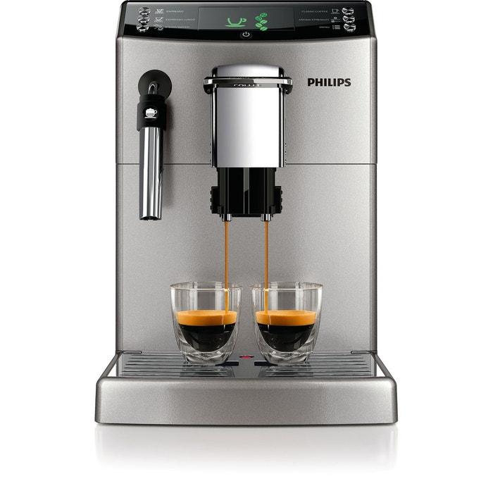 machine espresso super automatique hd8841 11 s4000 argent philips la redoute. Black Bedroom Furniture Sets. Home Design Ideas