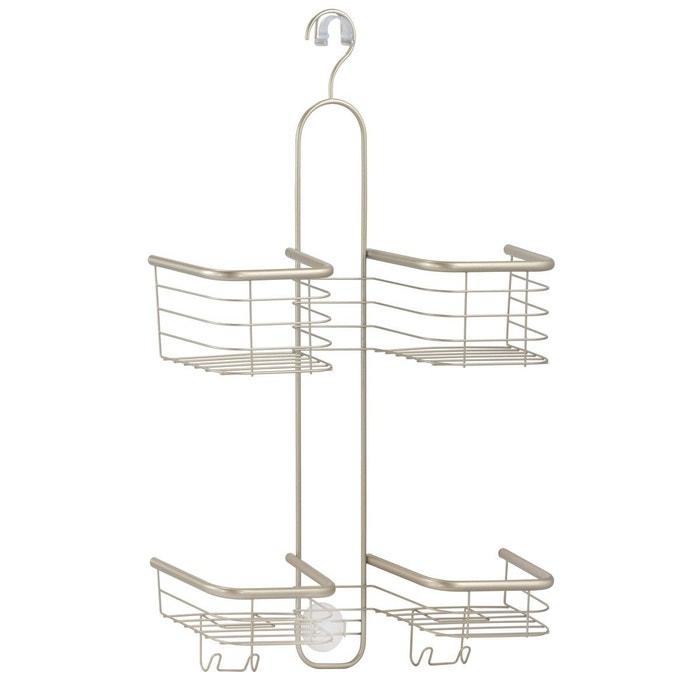Serviteur de douche 4 paniers interdesign forma ultra for Serviteur de douche bois