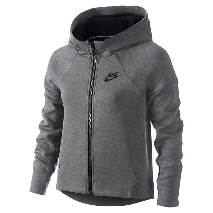 77cab7bca783 Sweat nike tech fleece full-zip junior - 807563-091 gris Nike