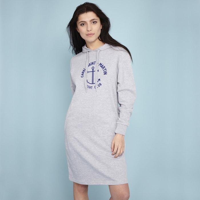 Sailor Print Hoodie Dress  RAD image 0