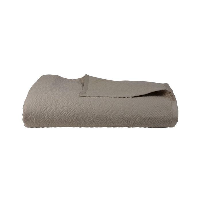 couvre lit satin sliver taupe hugo boss home la redoute. Black Bedroom Furniture Sets. Home Design Ideas