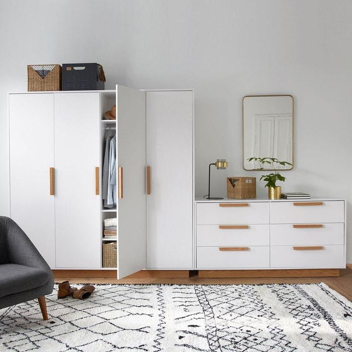 commode 3 tiroirs fabi la redoute interieurs la redoute. Black Bedroom Furniture Sets. Home Design Ideas