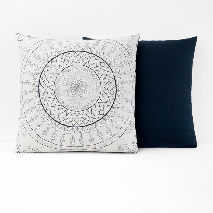ANISHEKA Rosette Print Cotton Pillowcase  La Redoute Interieurs image 0