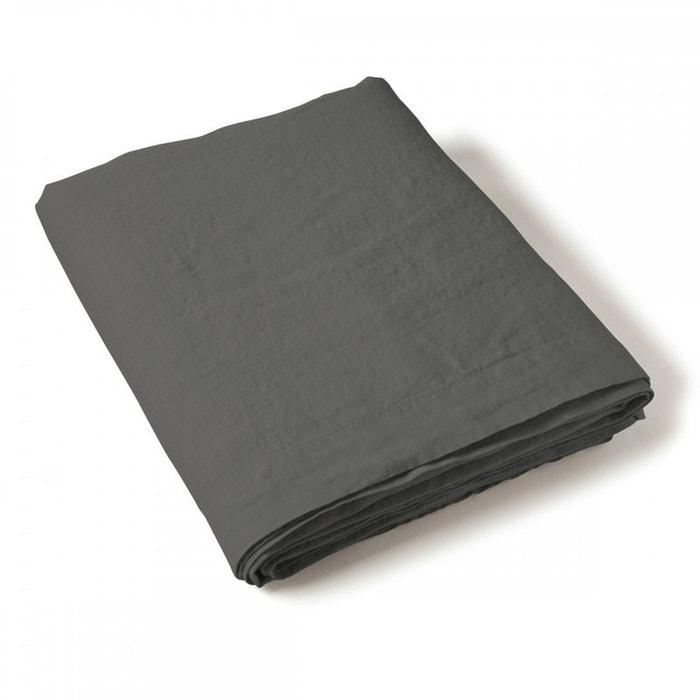 drap plat uni lin lave tradition des vosges tradition des vosges la redoute. Black Bedroom Furniture Sets. Home Design Ideas